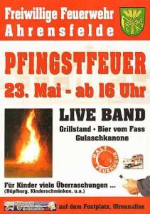 BOB Pfingstfeuer Ahrensfelde 23.05.2015