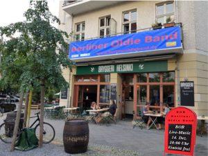 Berliner Oldieband Bryggeri Helsinki